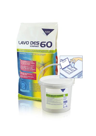 Kleen Purgatis Lavo Des 60 Kompakt (15 кг)